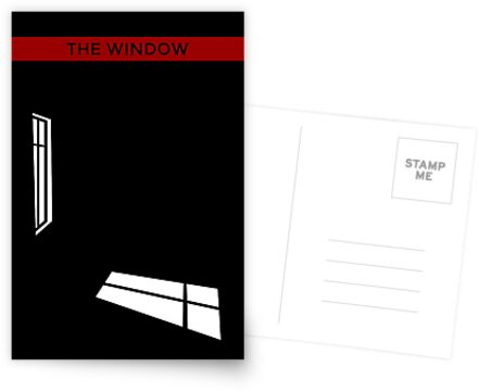 The Window - 60s cover design by Abird