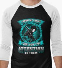 SAO - I know my limits Men's Baseball ¾ T-Shirt