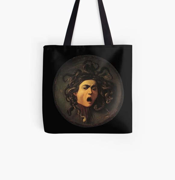 Medusa All Over Print Tote Bag