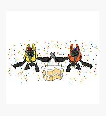 Grunt Birthday Party (NO BACKGROUND) Photographic Print