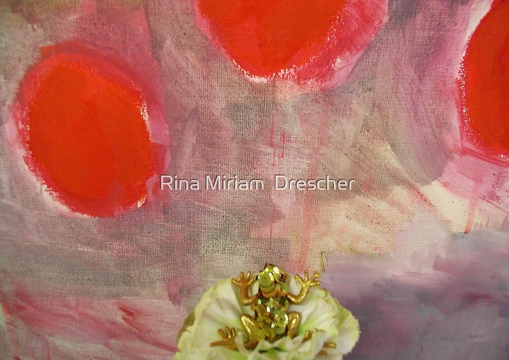 Glamourfrog by Rina Miriam  Drescher