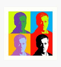 Pop Greg Lestrade Art Print