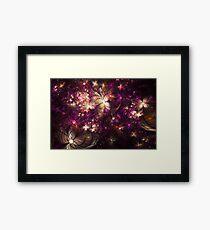 Fantastic flowers Framed Print