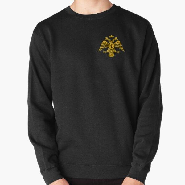 Palaiologos Dynasty - Constantinople Byzantine Eagle Pullover Sweatshirt