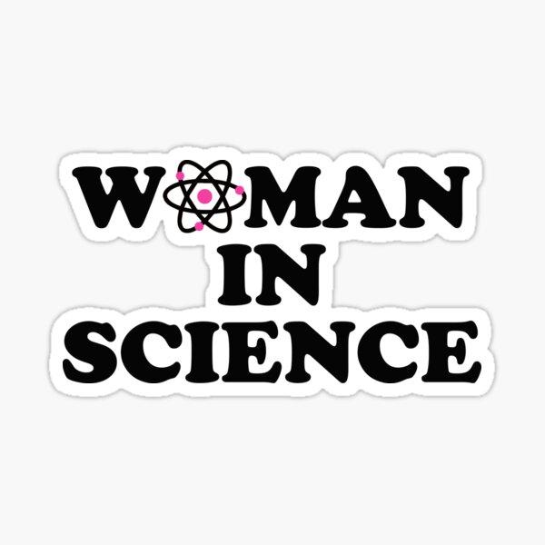 WOMAN IN SCIENCE Sticker