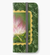 Mimosa ~  An Exotic Flowering Tree iPhone Wallet/Case/Skin