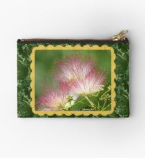 Mimosa ~  An Exotic Flowering Tree Zipper Pouch