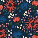 Dark Florals by KateMerrittshop