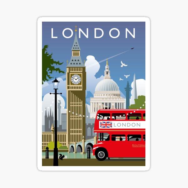 London Day Sticker
