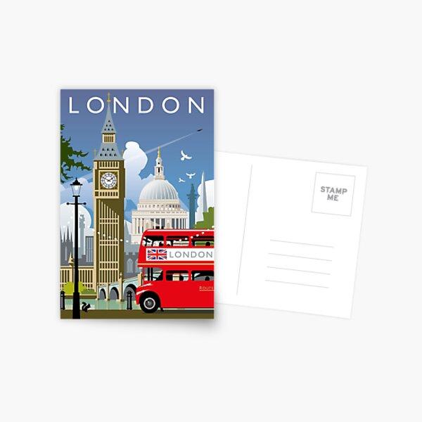 London Day Postcard