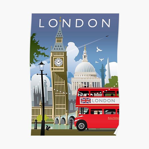 Jour de Londres Poster