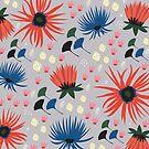 Darks Florals by KateMerrittshop