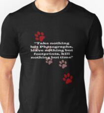 T-Shirt - Only Footprints v3 Slim Fit T-Shirt