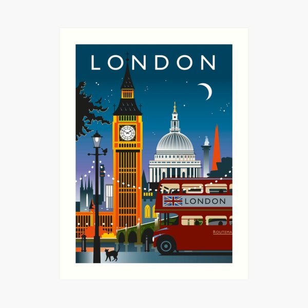 London Night Art Print