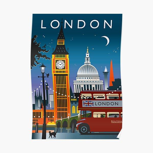 Nuit de Londres Poster