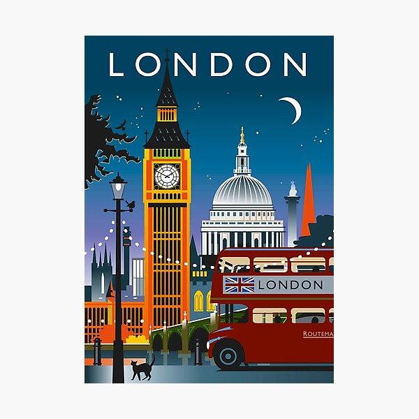 London Night Photographic Print
