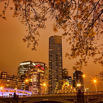 Dusk In Melbourne by ea-photos