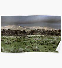 Snowy Mountains - NSW, Australia Poster