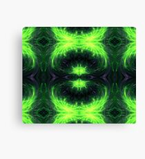 Psychedelic geometry pattern (Acid session vol.1) Canvas Print