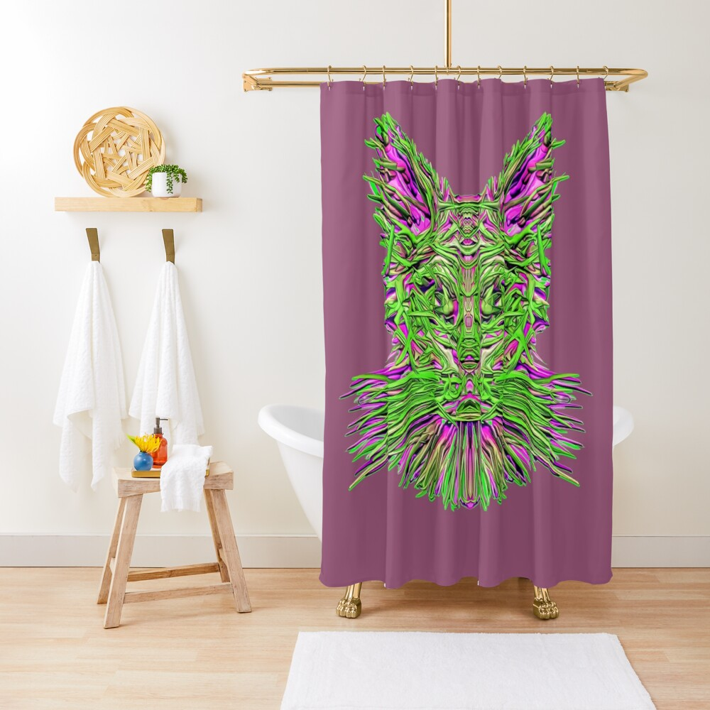 Where is my extraterrestrial Portal? Shower Curtain