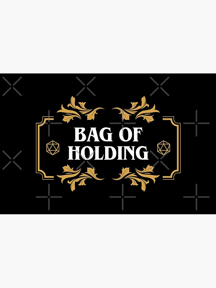 Bag of Holding Dice Container D20 Master Tabletop RPG Addict by pixeptional