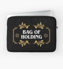 Bag of Holding Dice Container D20 Game Master Dungeons Crawler and Dragons Slayer Laptop Sleeve