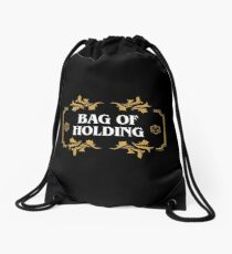 Bag of Holding Dice Container D20 Game Master Tabletop RPG Addict Drawstring Bag
