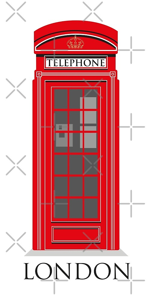 London Telephone Box by wiscan