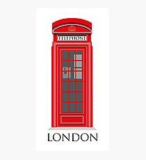 London Telephone Box Photographic Print