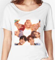 Camiseta ancha para mujer OT7 Love Yourself   Me amo