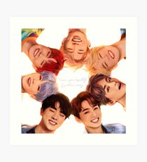 OT7 Love Yourself | Love Myself Art Print