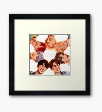 OT7 Love Yourself | Love Myself Framed Print