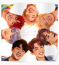 Póster OT7 Love Yourself | Me amo