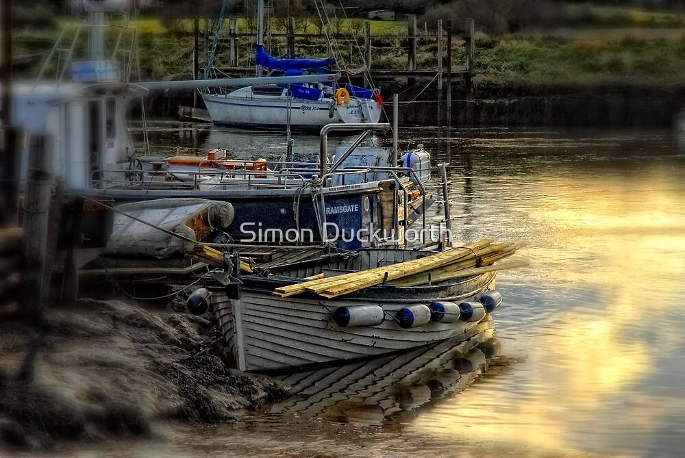 Walk the plank by Simon Duckworth