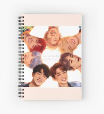 OT7 Love Yourself | Love Myself Spiral Notebook