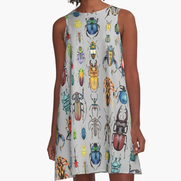 Beetle Collection A-Line Dress