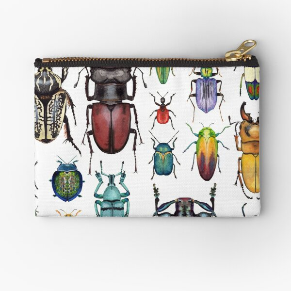 Beetle Collection Zipper Pouch