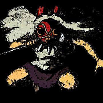 Mononoke San by Ednathum