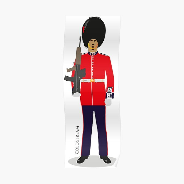 Coldstream Guards Poster