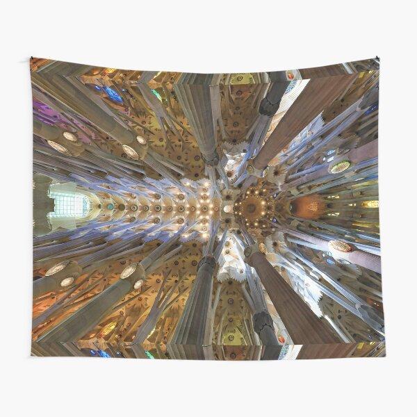 Sagrada Familiar, the Ceiling... Tapestry
