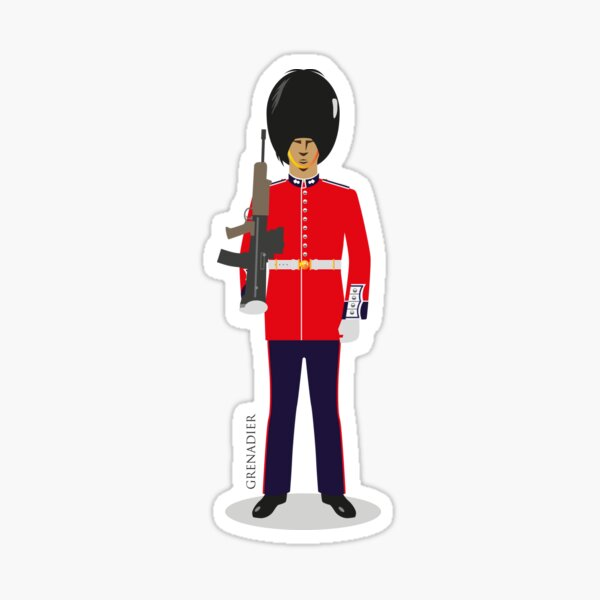 Grenadier Guards Sticker