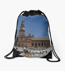 Horse and Carriage, Seville Drawstring Bag