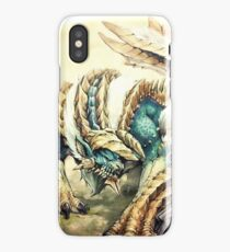 Monster Hunter - Zinogre, Roaring Thunder iPhone Case/Skin
