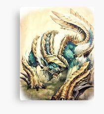 Monster Hunter - Zinogre, Roaring Thunder Canvas Print