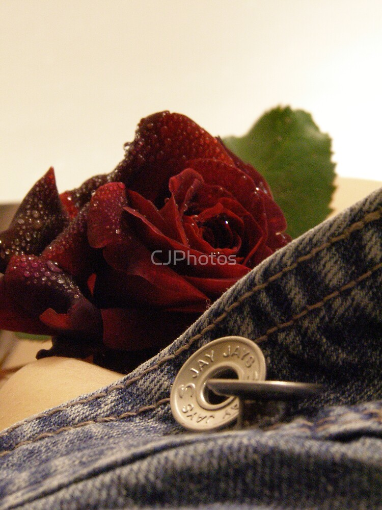 Fun with a rose by CJPhotos