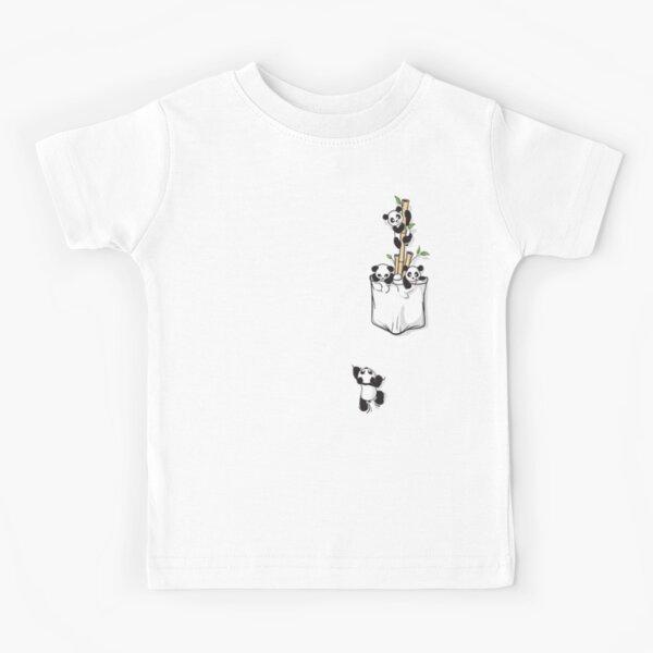 POCKET PANDAS Kids T-Shirt