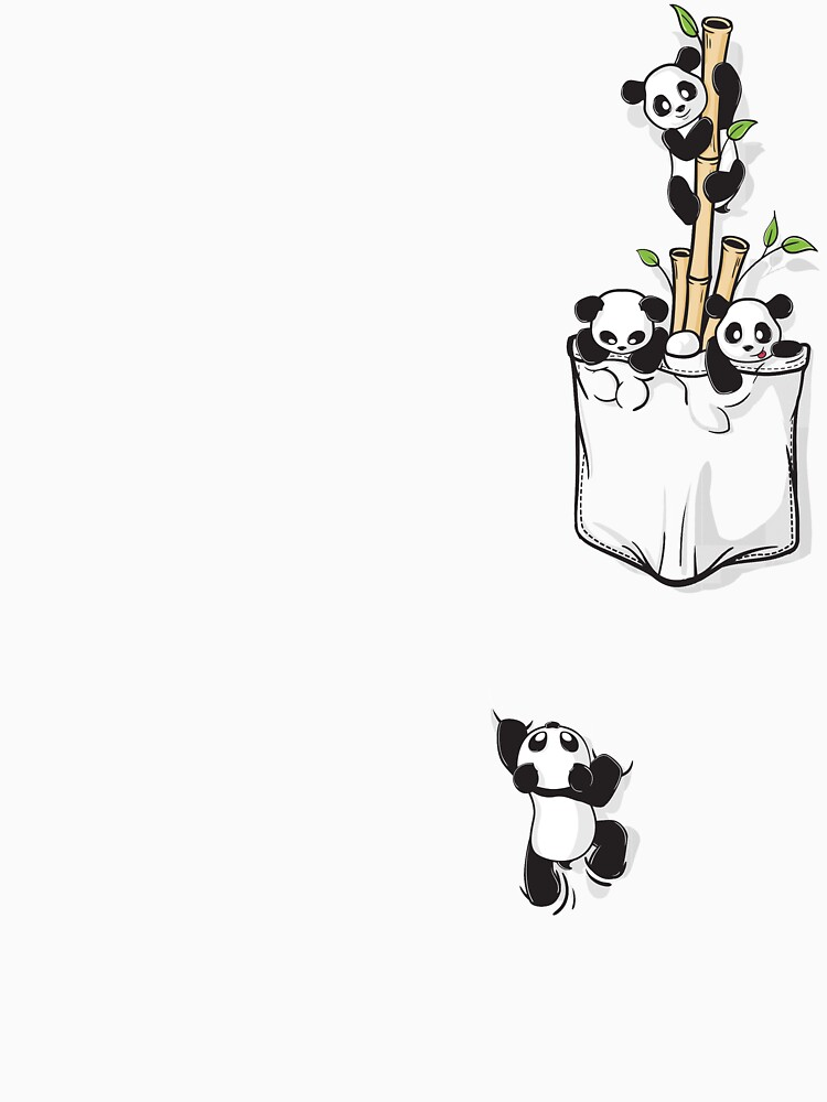 POCKET PANDAS | Unisex T-Shirt