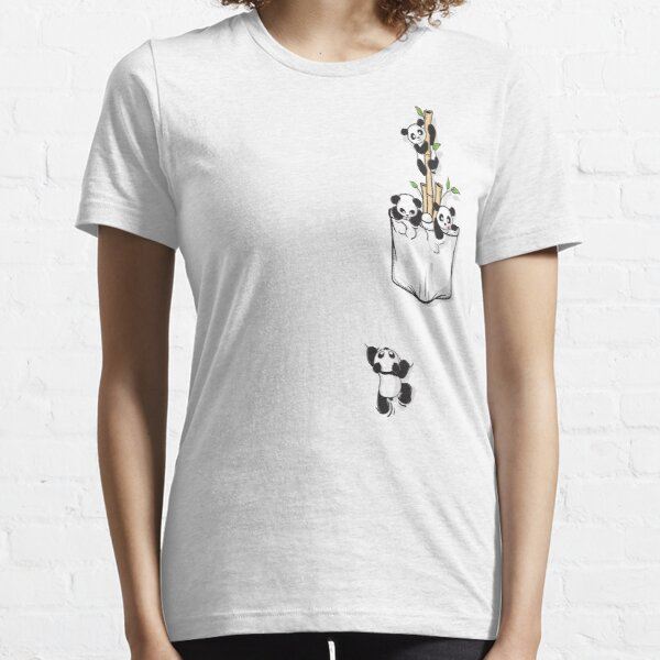 POCKET PANDAS Essential T-Shirt