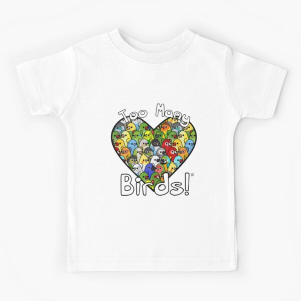 Too Many Birds! Bird Squad Classic Kids T-Shirt