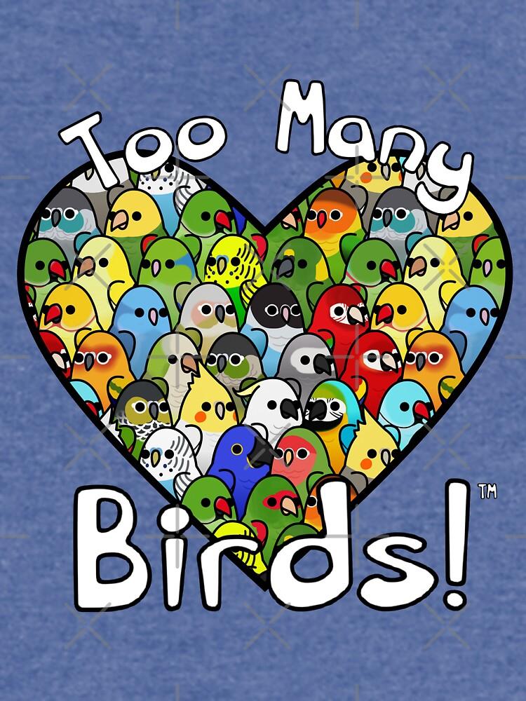 ¡Demasiadas aves! Escuadrón de Aves 1 de MaddeMichael